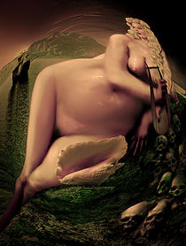 Odysseus At The Edge of Time von Rose Marie Paradise