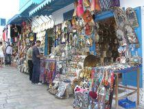 Bazar in Tunesien by mehrfarbeimleben