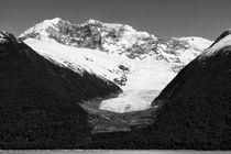 Spegazzini glacier, Argentina, b/w by travelfoto