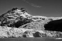 Spegazzini glacier, Argentina, b/w von travelfoto