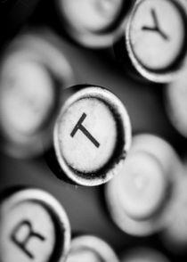T Is for Typewriter by Jon Woodhams