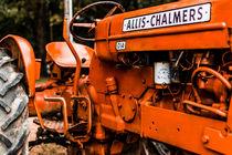 1950s-Vintage Allis-Chalmers D14 Tractor by Jon Woodhams