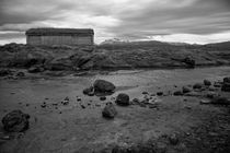 Landscape Seacoast, Bodo, north norway, b/w by travelfoto