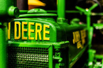 John Deere 1935 General Purpose Tractor Grill Detail von Jon Woodhams