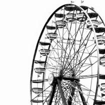 Minimalist Ferris Wheel (Square) von Jon Woodhams