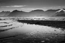 Seacoast Lofoten Islands b/w von travelfoto