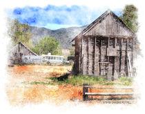 Rural Scene von Stephen Lawrence Mitchell