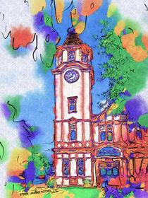 Tauranga Clock Tower von Stephen Lawrence Mitchell