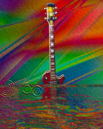 While My Guitar Gently Drowns von Stephen Lawrence Mitchell