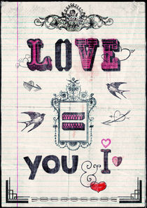 Love = You and I von Sybille Sterk