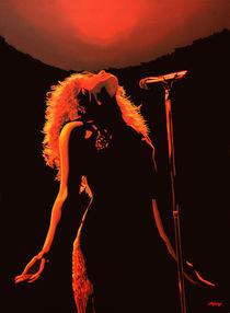 Shakira painting  von Paul Meijering