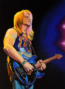 Steve Morse painting by Paul Meijering