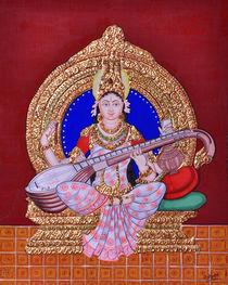 Saraswati by Pratyasha Nithin