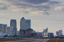 London City Airport von David Pyatt