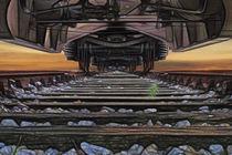 Unterm Zug von Markus Heinrich