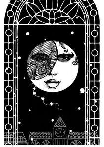 Moon von Maria Buzueva