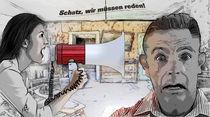 Schatz, wir müssen reden! -Honey, we need to talk!- by Wolfgang Pfensig