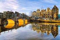 Winter morning in Amsterdam by Michael Abid