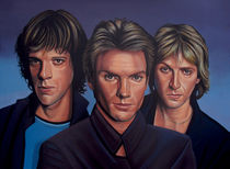 The Police painting  von Paul Meijering