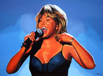 Tina Turner painting von Paul Meijering