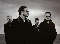 U2 painting by Paul Meijering