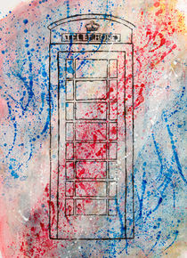 Telephone Box by Sally Joiner