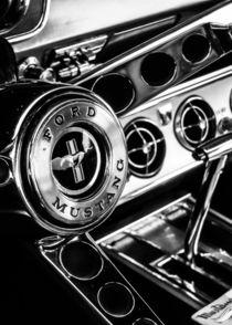 Classic Mustang Interior von Jon Woodhams