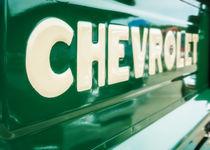 Classic Chevy Truck Tailgate von Jon Woodhams