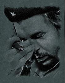Portrait of Che Guevara von Philippe Flohic