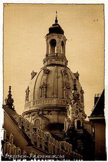 Frauenkirche auf den Dresdner Neumarkt von peter-andré sobota