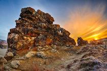 Sonnenaufgang an der Teufelsmauer von Daniel Kühne