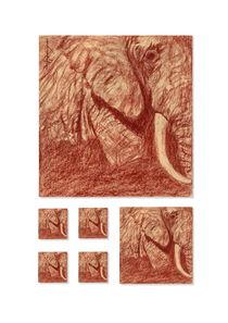 African Elephant (Kenya) ver 2 von Philippe Flohic