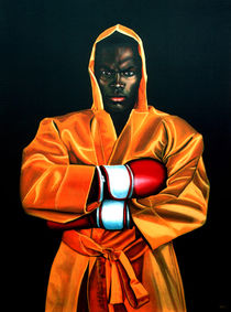 Remy Bonjasky painting by Paul Meijering