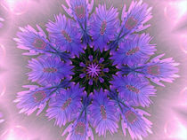 Purple Feathers von Taunia Maple