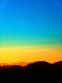 Sonnenuntergang mit kräftigen Farben | Landschaftsfotografie von Patrick Jobst