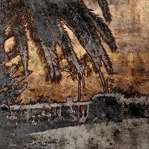 metal art, Strandszene by mehrfarbeimleben