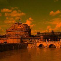 Rom, in dramtischem Licht von mehrfarbeimleben