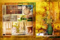 Collage bouquet von nidigicrea