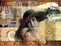 La dame au chapeau by nidigicrea