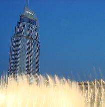 Wasserspiele, Dubai von mehrfarbeimleben