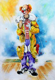 Clown Jerome von Barbara Tolnay