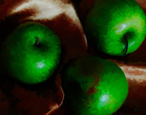 Green Apples #2 by Mike Darrah