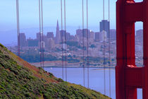 American Diary San Francisco view from the Golden Gate von franco franceschi