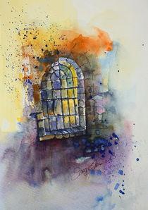 Altes Fenster von Inez Eckenbach-Henning