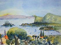 Bucht Manerba del Garda von Inez Eckenbach-Henning