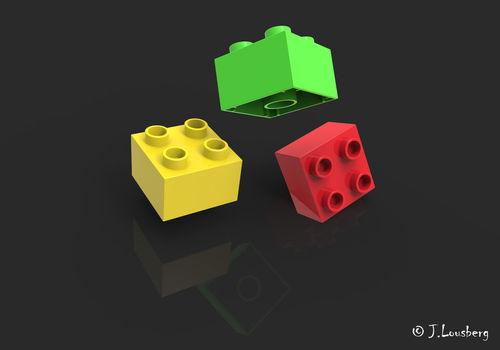 Legosteine-artflakes