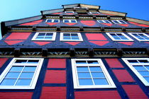 Fachwerkhäuser -Typical german Framework Buildings  Northern Germany 7 by Eddie Scott