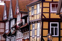 Fachwerkhäuser -Typical german Framework Buildings  Northern Germany 8 by Eddie Scott
