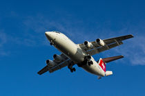 Swiss Air BAE 146 von David Pyatt
