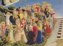 Das jüngste Gericht, Detail von Fra Angelico